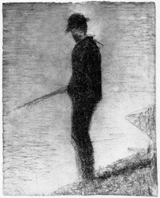 Georges Seurat. An angler