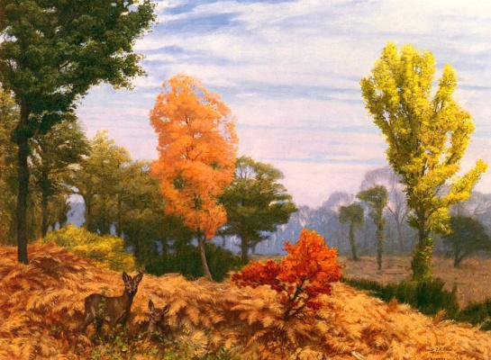 Jean-Leon Jerome. Autumn