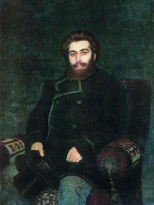 Илья Ефимович Репин. Портрет художника А. И. Куинджи