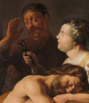 Jan Livens. Samson and Delilah. Fragment