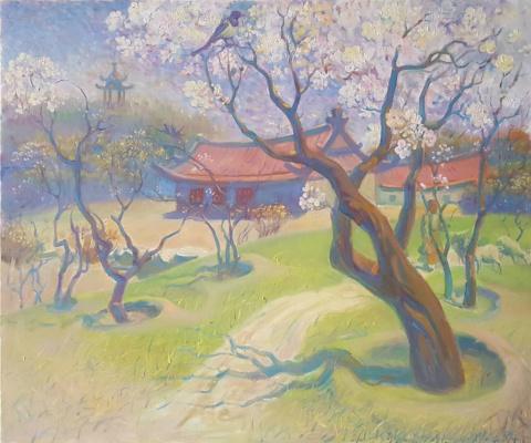 Daniil Litvinov. Весна в китае
