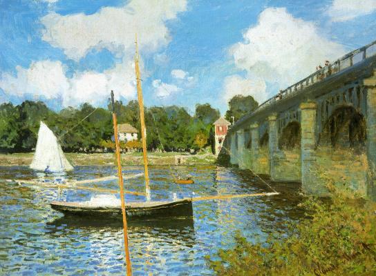 Клод Моне. Мост в Аржантёе