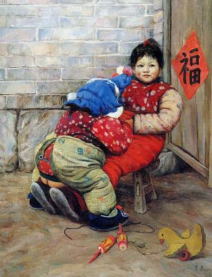 Цзян Хуэй. Детская игровая