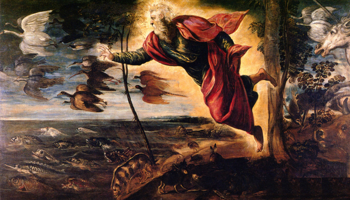 Jacopo (Robusti) Tintoretto. Animal creation