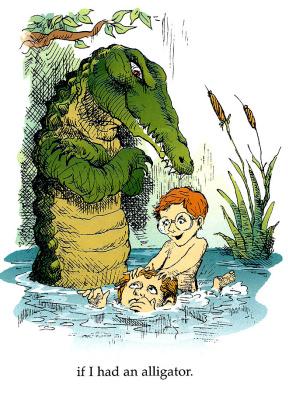Мерсер Майер. С крокодилом