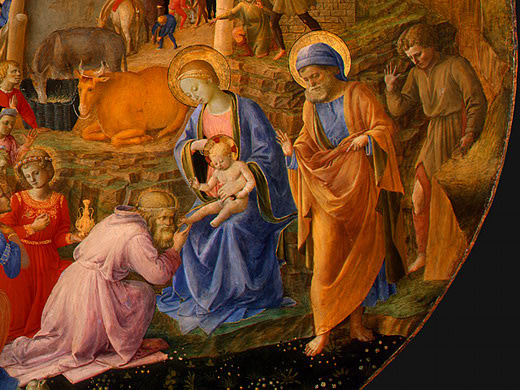 Fra Filippo Lippi. The adoration of the Magi
