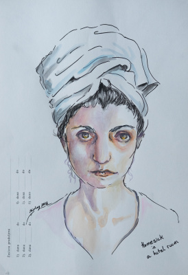 Shirley Siegal. Sketches