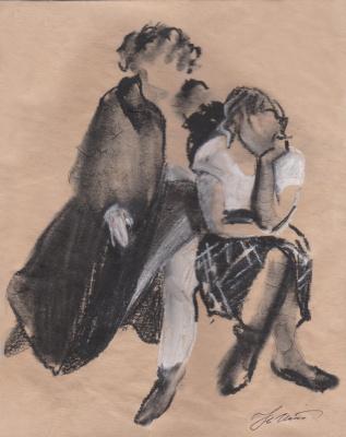 Natalia Iksanova. Sisters