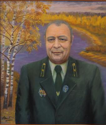 """Alexander Fedorovich Vazhnev. """"PORTRAIT P.N. ZHDANOV"""
