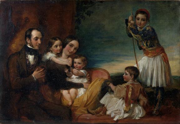 George Frederick Watts. Family of Alexander Konstantin Ionidis