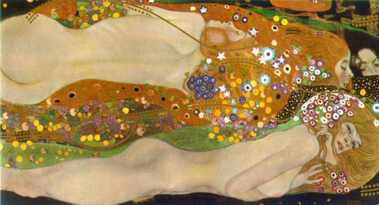 Gustav Klimt. Water serpents II