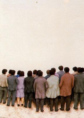 Дионисио Бланко. Толпа людей