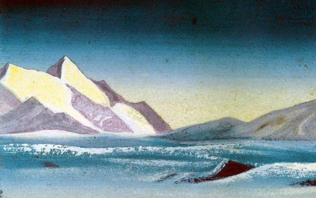Nicholas Roerich. Tibet (Lilac shade)