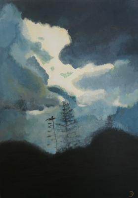 Genet Emmanuel. The sky under Brecons