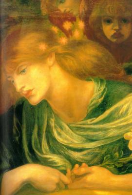 Dante Gabriel Rossetti. Blessed Damozel. Fragment