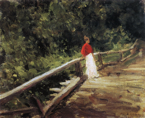 Konstantin Korovin. The bridge