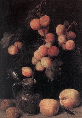 Georg Flegel. Peaches