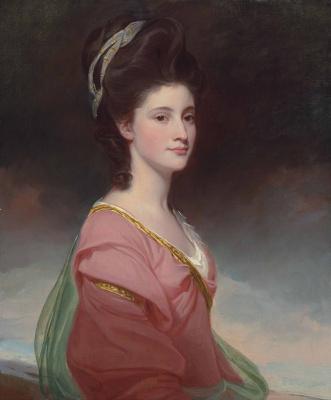 George Romney. Portrait of Elizabeth Ramus