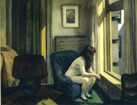 Edward Hopper. Waiting at the window