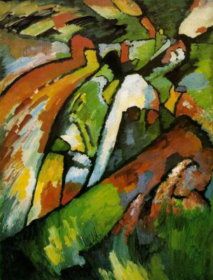 Wassily Kandinsky. Improvisation 7