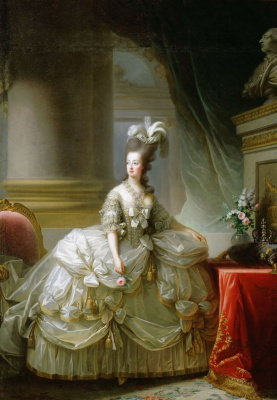 Elizabeth Vigee Le Brun. Portrait Of Maria Antoinette