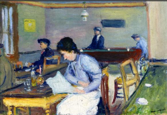 Albert Marquet. Village cafe