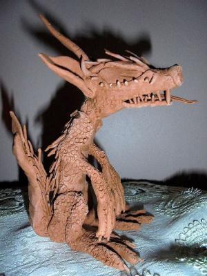 Julia Sergeevna Bochkareva. Chinese horned dragon