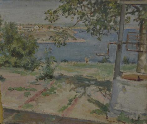 Евгений Иосифович Буковецкий. Estuary near Odessa