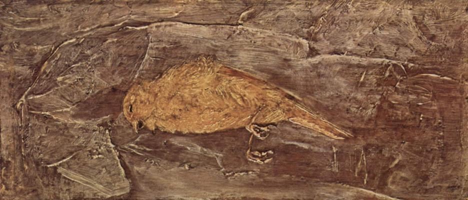 Albert Pinkem Ryder. Dead bird