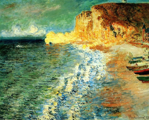 Claude Monet. Morning at Etretat