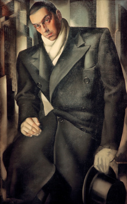 Тамара Лемпицка. Мужской портрет. 1928