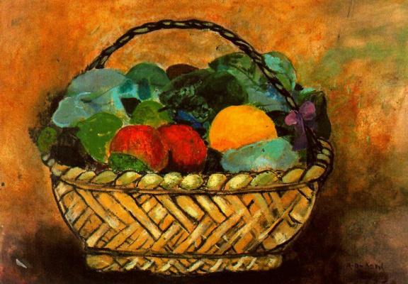Данс Мария Антония Боадо. Корзина с фруктами