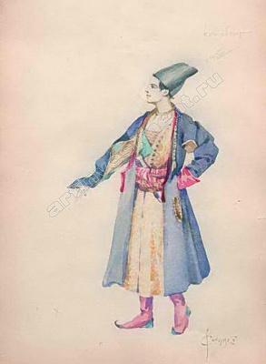 Sergey Sergeevich Solomko. Costume design