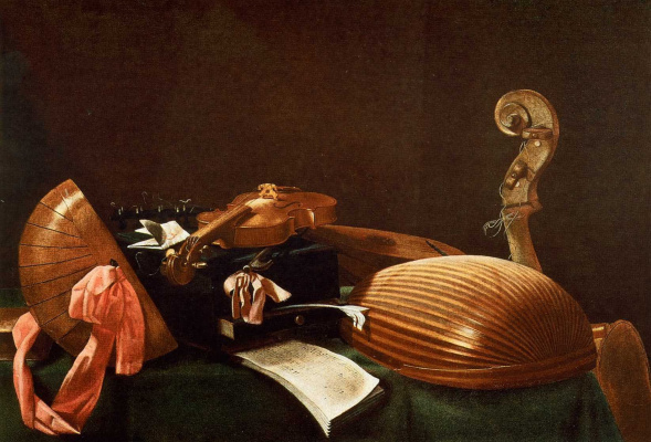 Evaristo Baskenis. Musical instruments