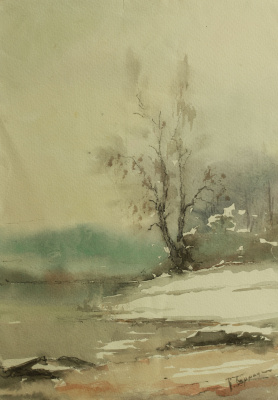 Владимир Алексеевич Бернадин. Одинокое дерево