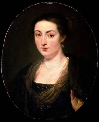 Peter Paul Rubens. Portrait Of Isabella Brant