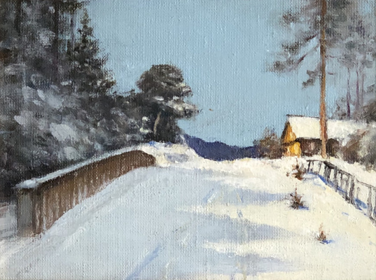 Nazar Andreevich Ostapov. Village