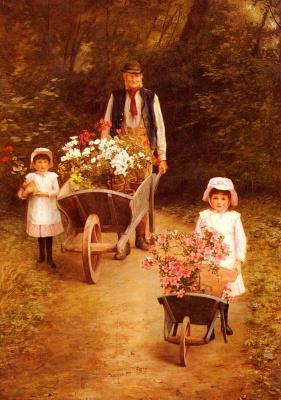 Mary Hallar. Help the gardener
