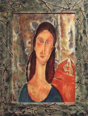 Андрей Харланов. Copy: Modigliani - Portrait of Jeanne Hébuterne (II)