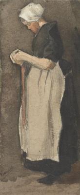 Винсент Ван Гог. Схевенингенская женщина