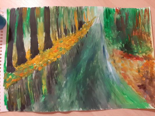 Irina Vladimirovna Razorenova. Landscape of Russian nature