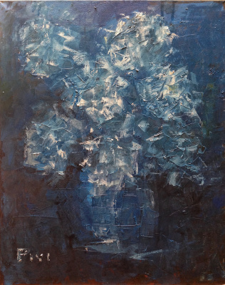 Pavel Kamyshnikau. Blue flowers