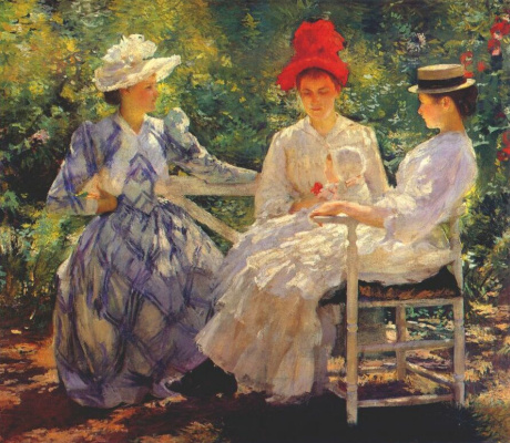 Эдмунд Чарльз Тарбелл. Три сестры