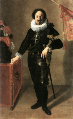 Artemisia Gentileschi. Gonfaloniera portrait