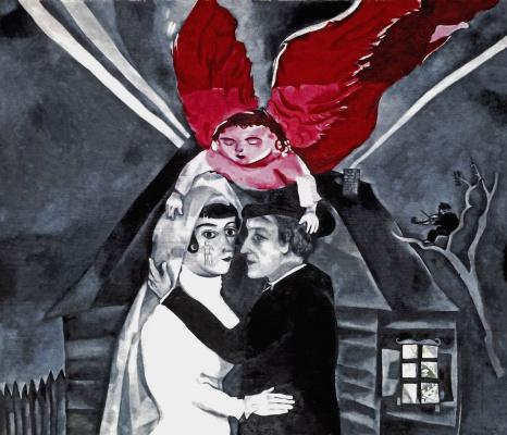 Marc Chagall. Wedding. Wedding