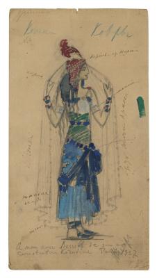 Konstantin Korovin. Costume Design for Prince Igor