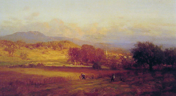 George Innes. Autumn