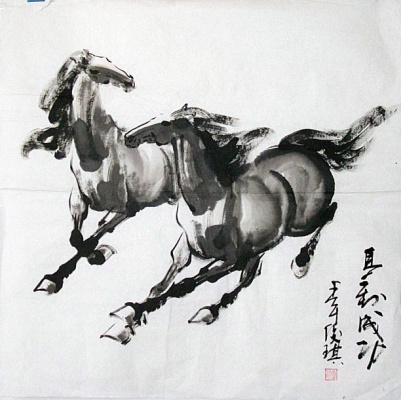 Сюй Бэйхун. Кони