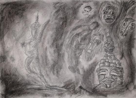 Руслан Шакиров. Wild (sketch)