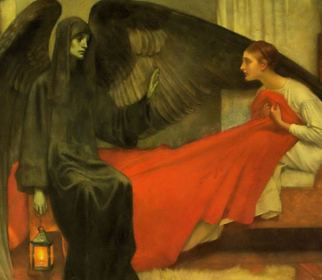 Pierre Cecil Puvi de Chavannes. The girl and Death